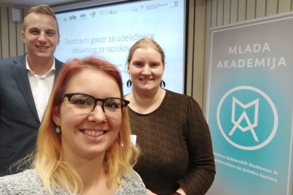 Mlada akademija je v Mariboru soorganizirala dogodek o odprtih raziskovalnih podatkih in drugih temah, povezanih z odprto znanostjo