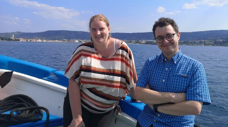 Matic Lozinšek in Ana Slavec na delavnici o kriterijih znanstvenega napredovanja v Sloveniji
