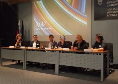 Posvet komisije za enake možnosti na področju znanosti – november 2019