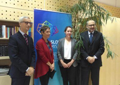 Novinarska konferenca MIZŠ in ARRS ob vzpostavitvi Programa Aleša Debeljaka za povezovanje slovenskega znanja in inovacij – november 2019