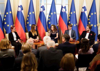 Tradicionalni sprejem in pogovor pri predsedniku republike – december 2019